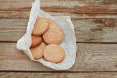 Crispy cereal cookies — Stock Photo