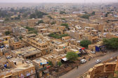 View of the town from Jaisalmer Fort, India — Stock Photo