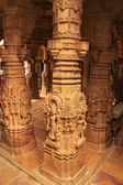 Decorative carving of Jain temples, Jaisalmer, India — Stock Photo