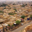 View of the town from Jaisalmer Fort, India — Stock Photo #54950809