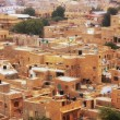 View of the town from Jaisalmer Fort, India — Stock Photo #55024191