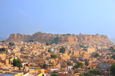 View of Jaisalmer fort and the city, India — Stock Photo