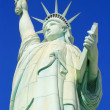 Close up of Replica of Statue of Liberty, New York - New York ho — Stock Photo #66907557