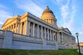 Utah State Capitol in Salt Lake City in the evening — Stock Photo
