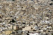 Panorama of Fes — Stock fotografie