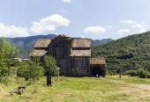 The Akhtala fortress-monastery — Stock Photo