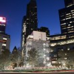 Columbus Circle at night in New York City — Stock Photo #59176711