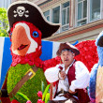 Portland Grand Floral Parade 2014 — Stock Photo #64569625