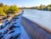 Idaho Falls Power HydroElectric project — Stock Photo