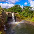Постер, плакат: Rainbow Falls in Hawaii