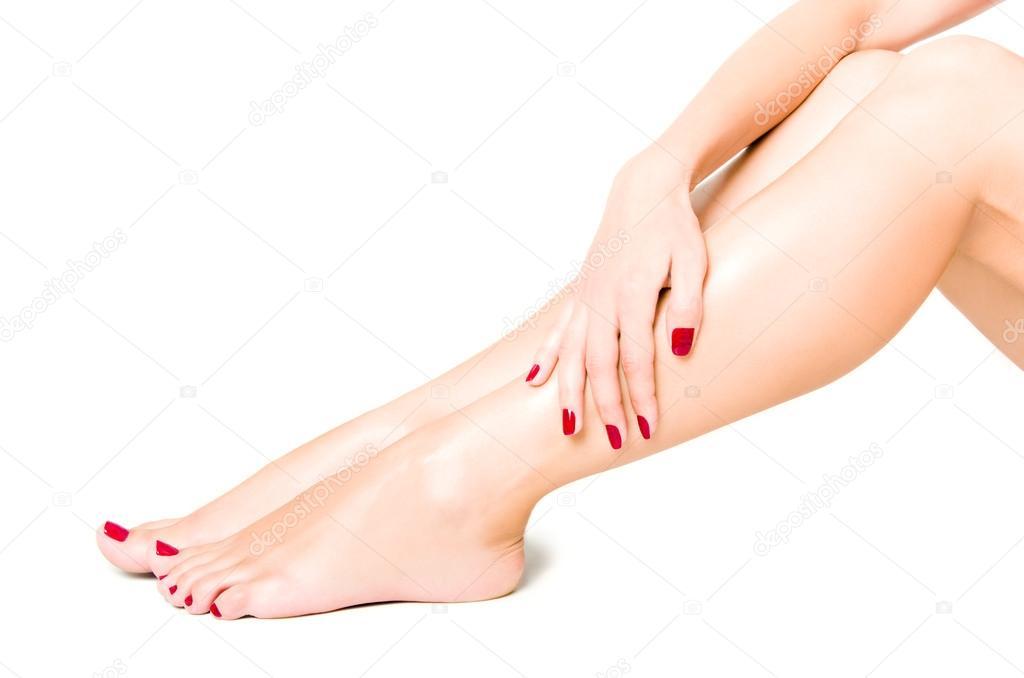 Женские ножки с сексуальным педикюром смотреть онлайн фотоография