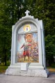 "Monument ""An oath of the prince Pozharsky"" in the city of Yarosl — Stock Photo"