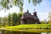 Wooden church in the city of Kostroma — 图库照片