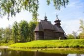 Wooden church in the city of Kostroma — Fotografia Stock