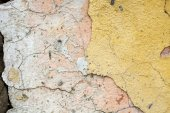 Cracked concrete vintage wall background,old wall — Stock Photo