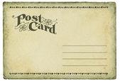 Vintage postcard — Stock Photo