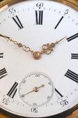 Vintage golden pocket watch — Fotografia Stock
