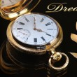 Vintage golden pocket watch — ストック写真 #63715861