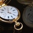 Vintage golden pocket watch — Photo #63715863