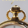 Vintage golden pocket watch — ストック写真 #63715943