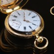 Vintage golden pocket watch — ストック写真 #63715953