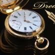 Vintage golden pocket watch — ストック写真 #63715957