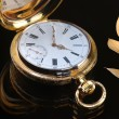 Vintage golden pocket watch — 图库照片 #63716061