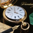 Vintage golden pocket watch — Stockfoto #63716149