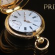Vintage golden pocket watch — ストック写真 #63716177