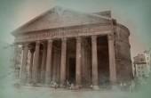 Řím zobrazení — Stock fotografie