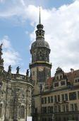 Дрезденский замок, также называется Королевский дворец — Стоковое фото