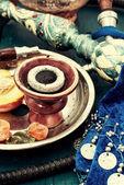 Shisha and accessories — Foto Stock