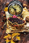 Forest attributes autumn — Stock Photo