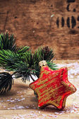 Noel oyuncak — Stok fotoğraf
