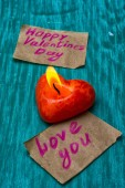 Symbolic Valentines day — Stock Photo