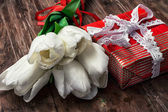 Gifts for the holiday — Stock Photo