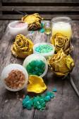 Sea aromatic salt for spa treatments — Foto Stock