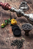 Shisha and accessories — Stock Photo