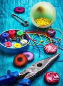 Artigianato con perline — Foto Stock