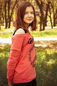 Photography cute teen girl — Стоковое фото
