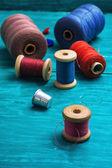 Working tool dressmaker — Stock Photo