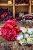 Ebegümeci çayı — Stok fotoğraf