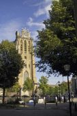 Dordrecht cathedral in the summer — Stock Photo