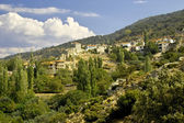 Village in the hills near Petra on Lesbos, Greece — Stock Photo