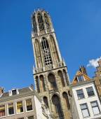Dom cathederal in Utrecht, Holland — Foto de Stock