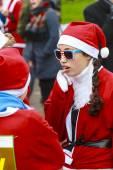 Stars & stripes Santa — Foto Stock