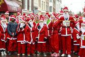 Santa start — Foto Stock