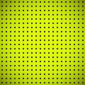 穿孔パターンと緑の背景 — ストックベクタ