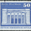 Postage stamp printed in Germany, shows the building Neue Wache (New Guardhouse), Berlin — Stock Photo #53066711