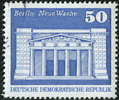Postage stamp printed in Germany, shows the building Neue Wache (New Guardhouse), Berlin — Foto de Stock